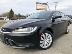 2015 Chrysler 200 LX Auto, Air, Cruise with Steering Wheel Co...