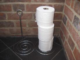 Freestanding Toilet Roll holders x2