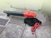 Sovereign electric garden leaf blower/vacuum