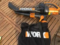 Worx WG501E All in one leafblower/vac/mulcher 3000w
