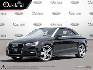 2015 Audi A3 2.0T|S-Line|Navigation|Convertible!!