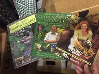 X3 gardening books