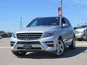 2015 Mercedes-Benz ML350 Nav! Leather! Safety Package!