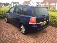 Vauxhall Zafira 7 seater 56 plate £1695 Year mot