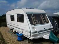 4 berth abbey Oxford caravan 2000