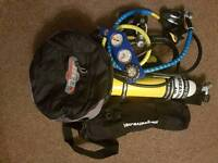 Various diving gear reduced