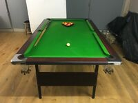 Full Size Pool Table 6 x 3 ft