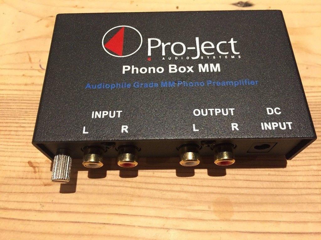 Pro Ject Project Phono Vinyl Riaa Preamplifier Box Mm In Pre Amplifier