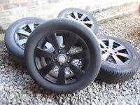 5x112 alloy wheels mercedes vito viano alloys
