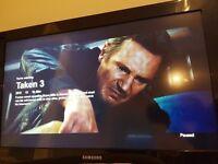 "Samsung Flat screen TV 34"""