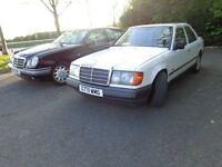Classic Mercedes-Benz W124 E300 White Prelift