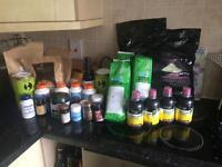 Huge quantity of health supplements
