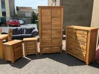 New/Ex-display**DiMarco Solid oak bedroom set