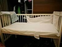 John Lewis baby cot