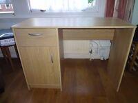 Tyler Office Desk - Oak Effect - in perfect condition
