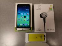 LG G5 plus bundle for sale (spare battery and charging case) + B&O H3 earphones (unused)