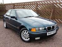 BMW E36 318i SE Saloon, Manual, Only 78k Miles, 1997 / R Reg, 2 Owners, MOT: August