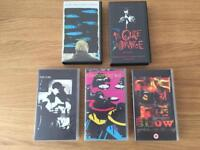 The Cure VHS videos