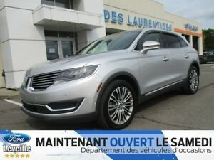 2016 Lincoln MKX Reserve/CUIR/TOIT/TRES RARE SIEGES MASSANT