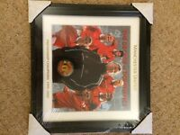 MANCHESTER UNITED THE DECADE OF DOMINANCE 1990-2000 COIN IN ART