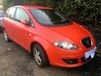 2005 SEAT ALTEA 2.0 PETROL MANUAL RED 5DR ''BREAKING '' PARTS FOR SALE