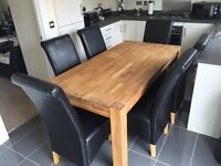 Schreiber Dining Table & 6 Chairs