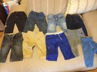 Baby boys 6-9 hardly worn, all makes.