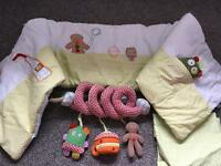 Mamas and papas gingerbread bedroom bundle