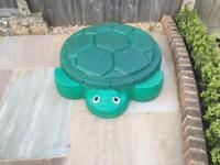 Turtle sandpit