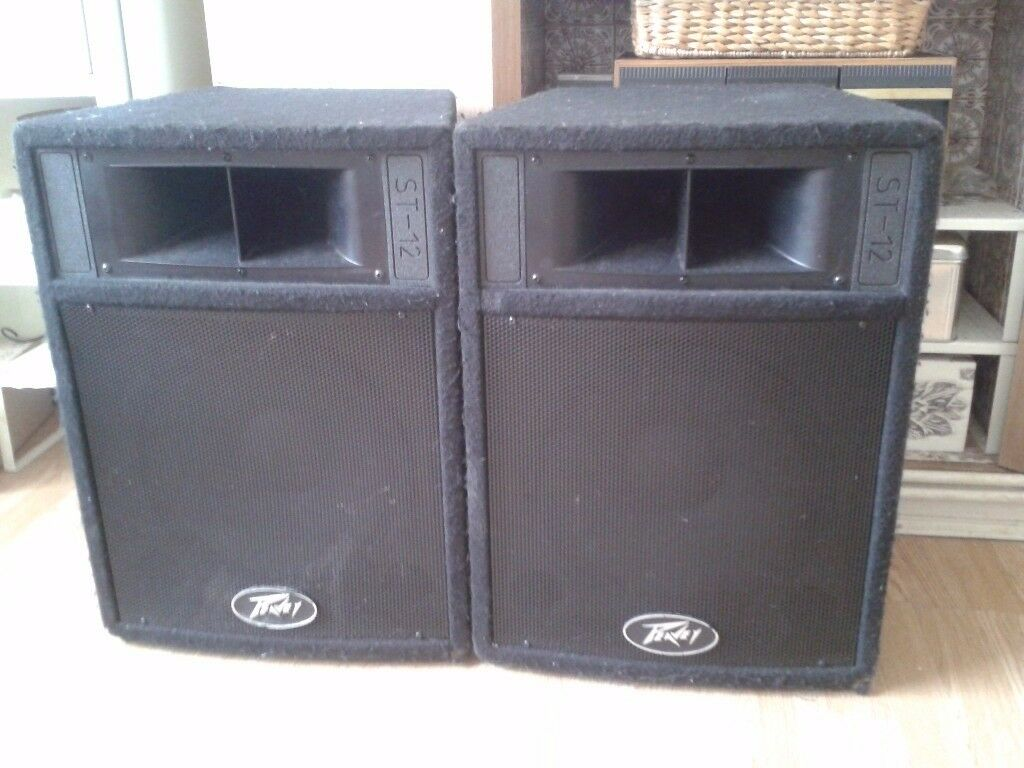 PEAVEY ST-12 SPEAKERS