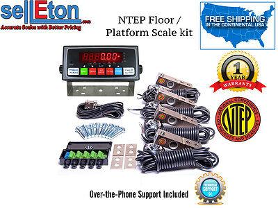 Ntep Floor Platform Scale Kit Build Custom Scale Livestock Industrial