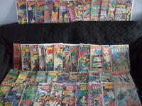 Hundreds of old DC comics, Batman, Superman, Flash and more