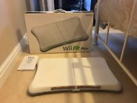 Nintendo Wii Fit Plus Balance Board AND GAME - Excellent Condition