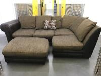 DFS comfy L shape sofa •free delivery