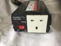 12 volt Inverter DC in AC out. 150 watt max load