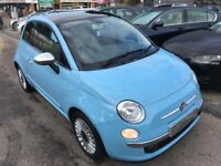 2011/11 FIAT 500 1.2 LOUNGE (S/S) 3DR STUNNING BLUE,EXCELLENT CONDITION,LOOKS AND DRIVES REALLY WELL