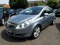 Vauxhall Corsa 1.3 CDTi 16v SXi 3dr 2007 (07 reg), Hatchback SLIVER 1 OWNER FROM NEW, 2 KEYS, DIESEL