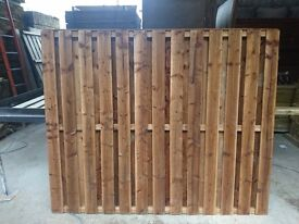 Double Sided Pressure Treated Fence Panels.6x6 £24---6x5 £22---6x4 £20---6x3 £18 Each