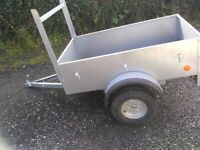 Car trailer bronnis 5x3 new