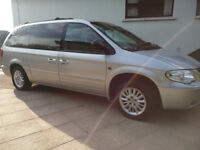 7 Seater Chrysler Grand Voyager Automatic