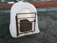 Calf rehearing shelter hutch or pig sheep shelter two available tractor