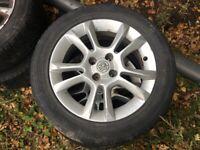 Vauxhall alloys wheels