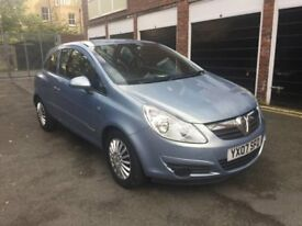 1.2 BLUE VAUXHALL CORSA 3DR ; PERFECT INTEREOR , LOVELY DRIVE & LOW MILEAGE *QUICK SALE* £1500 ONO