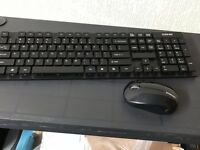 Wireless keyboard & Mouse New