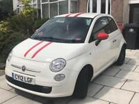 Fiat 500 twinair 2012 12 month mot free road tax
