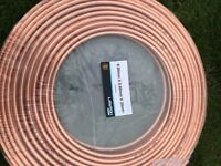 Copper plumbing tube