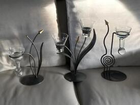 Excellent condition candle holders