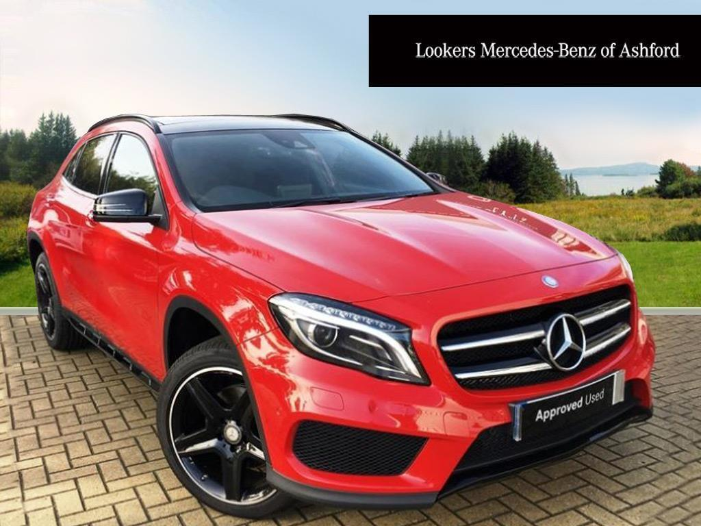mercedes benz gla class gla 220 d 4matic amg line premium plus red 2017 02 21 in ashford. Black Bedroom Furniture Sets. Home Design Ideas