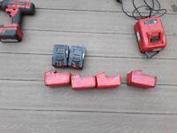 Snap on 18 volt cordless tools