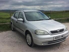 Vauxhall Astra 1 .6 Twin Port 5 Door Mot Till November 17 Full Service history VERY ECONOMICAL!!!